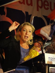 Marine Le Pen in 2012. Photo by Jannick Jeremy/Wikipedia