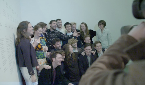 Assemble, at the awarding of the Turner Prize. Photo by Tate Britain