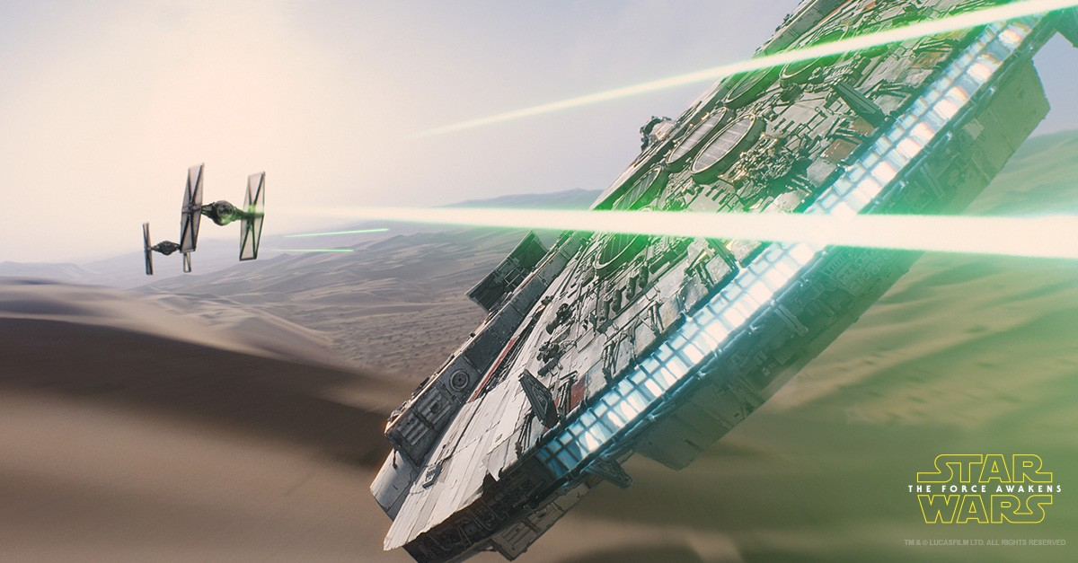 Star Wars: The Force Awakens hit theatres in December.