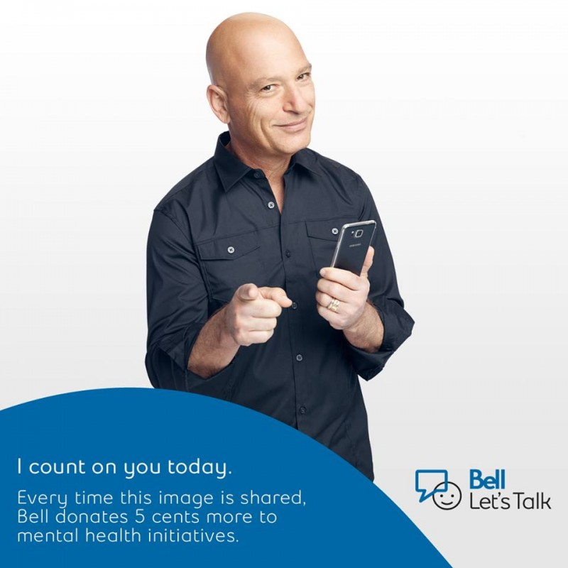 Today is Bell Let's Talk Day! Every time this post is shared, we'll donate an additional 5¢ to mental health initiatives in Canada.