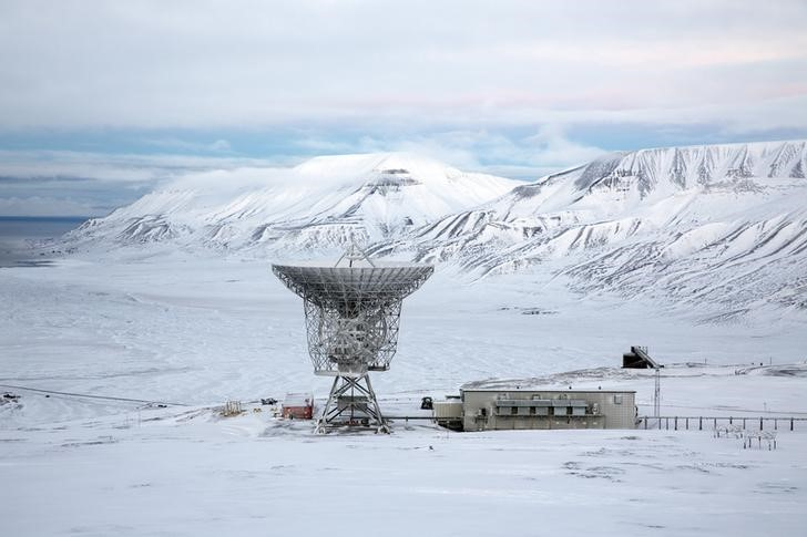 "Radar dish and antennas systems are seen at the European Incoherent Scatter Scientific Association facility on Breinosa, Svalbard, in Norway, October 24, 2015. A Norwegian chain of islands just 1,200 km (750 miles) from the North Pole is trying to promote new technologies, tourism and scientific research in a shift from high-polluting coal mining that has been a backbone of the remote economy for decades. Norway suspended most coal mining on the Svalbard archipelago last year because of the high costs, and is looking for alternative jobs for about 2,200 inhabitants on islands where polar bears roam. Part of the answer may be to boost science: in Ny-Alesund, the world's most northerly permanent non-military settlement, scientists from 11 nations including Norway, Germany, France, Britain, India and South Korea study issues such as climate change. The presence of Norway, a NATO member, also gives the alliance a strategic foothold in the far north, of increasing importance after neighbouring Russia annexed Ukraine's Crimea region in 2014.    REUTERS/Anna Filipova  TPX IMAGES OF THE DAYPICTURE 13 OF 19 - SEARCH ""SVALBARD FILIPOVA"" FOR ALL IMAGES"