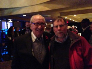 Dal Richards and Rod Mickleburgh