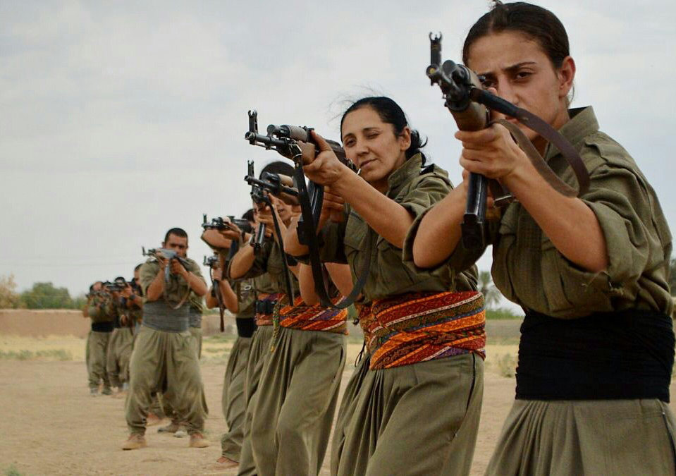 Kurdish PKK fighters Photo: Kurdishstruggle/Flickr/Creative Commons