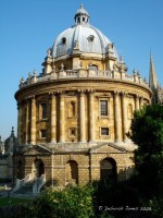 The Radcliffe Camera of the Bodleian Library at the University of Oxford. © Deborah Jones 2008