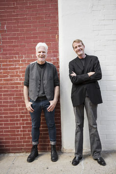 Lee Child and Andy Martin. Photo by Jessica Lehman, Creative Commons