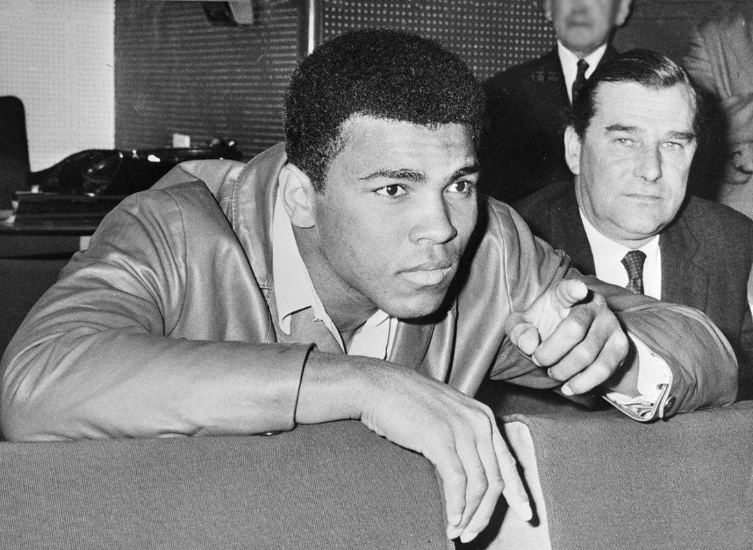 Muhammad Ali in 1966. Photographer unknown, Dutch National Archives, The Hague