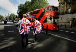 Vote leave supporters stand outside Downing Street in London, Britain June 24, 2016 after Britain voted to leave the European Union. REUTERS/Kevin Coombs