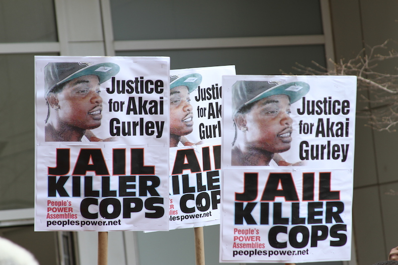 In 2014 a young police officer, Peter Liang, shot and killed Akai Gurley, a young black man.