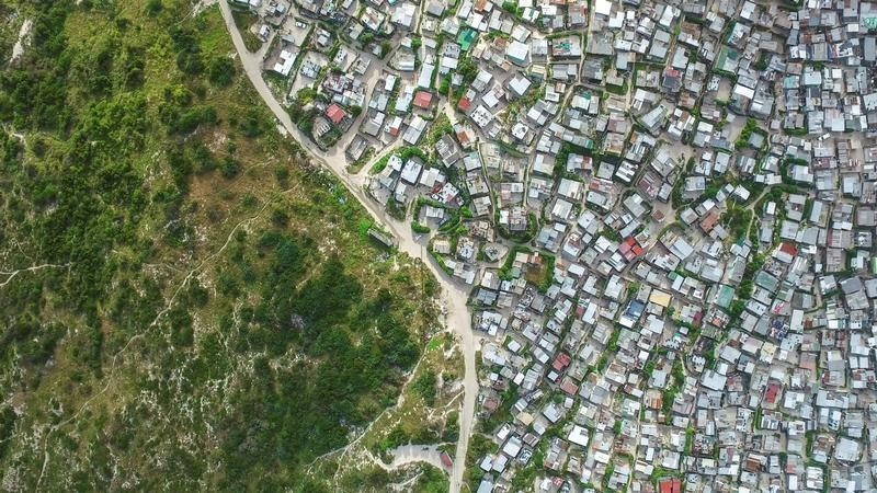 Cape Town's Khayelitsha township is seen in this picture taken October 4, 2016. Picture taken October 4, 2016. THOMSON REUTERS FOUNDATION/Johnny Miller - RTSRXXL