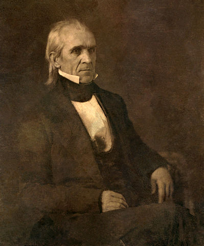 James K. Polk, by Mathew B., 1823