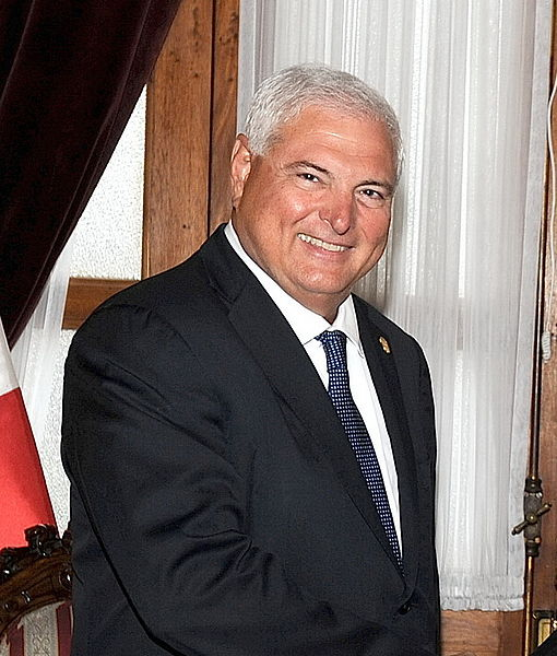 Former Peruvian president Ricardo Martinelli in 2010. Official portrait