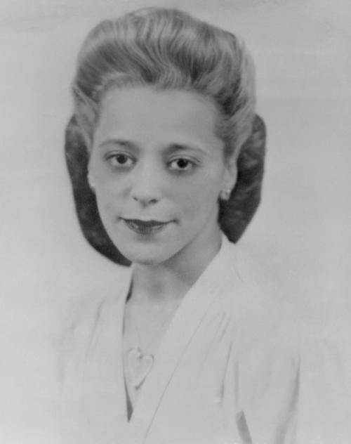 Viola Desmond, civil rights leader, circa 1940. Photo Nova Scotia Government