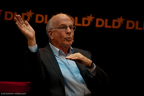 Psychologist Daniel Kahneman, winner of the 2002 Nobel Prize in economics, in 2009. Photo by Eirik Solheim/Flickr/Creative Commons
