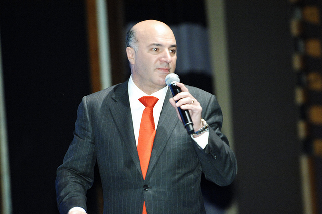 Kevin O'Leary takes the stage. Photo: Randstad Canada/Flickr/Creative Commons
