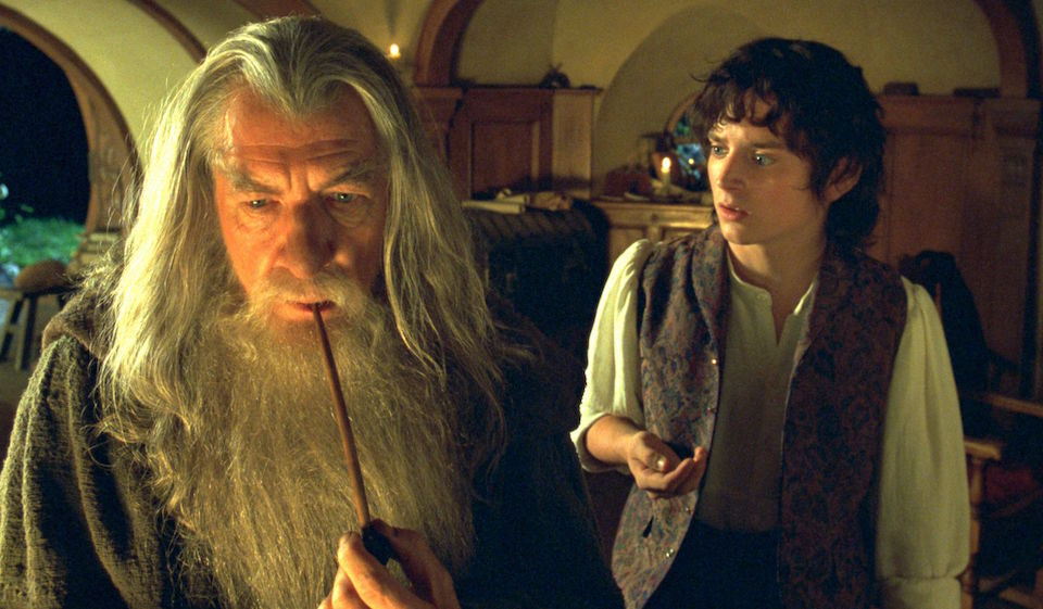 A scene from the Lord Of The Rings movie series. Publicity Photo: New Line