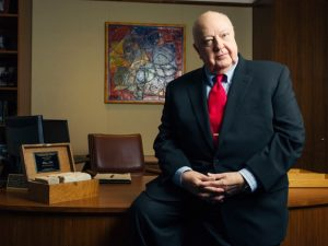Roger Ailes. Photo by Ninlan Reid, Creative Commons