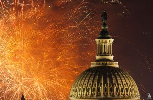 July 4 celebration in Washington, 2012. Photo by Architect of the Capitol, US government, public domain.