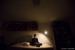 Wider Image: Out Of The Cave And Onto Facebook - Life Of A Modern Hermit