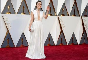Actress Oliva Wilde arrives at the 88th Academy Awards in Hollywood