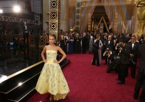 Alicia Vikander, nominated for Best Supporting Actress in