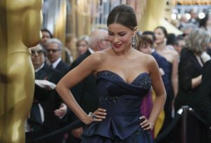 Vergara arrives at the 88th Academy Awards in Hollywood