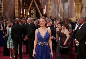 Brie Larson, nominated for Best Actress for her role in